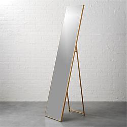 """infinity brass 16""""x69"""" standing floor mirror"""