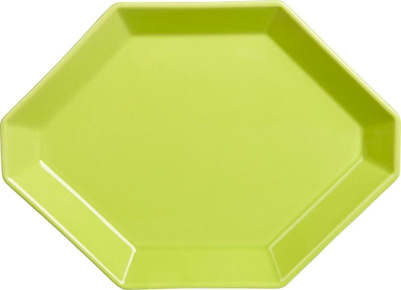 intermix green plate