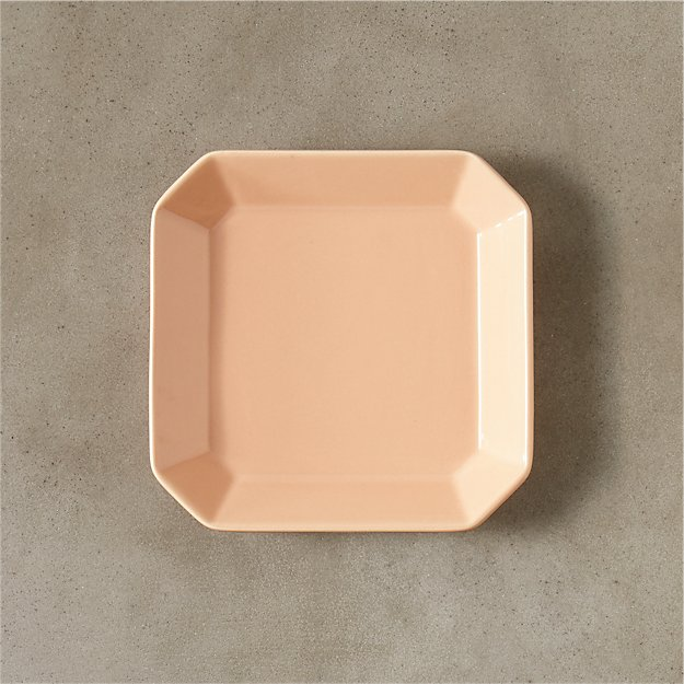 intermix dusty pink plate