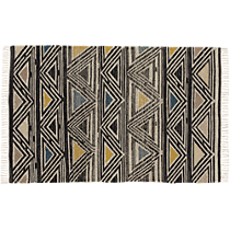intersect dhurrie rug