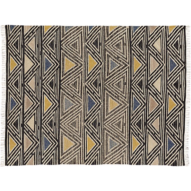 intersect dhurrie rug 8'x10'