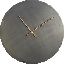 """iron circle 30"""" wall clock"""