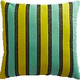 "izmir chartreuse-aqua 20"" outdoor pillow"