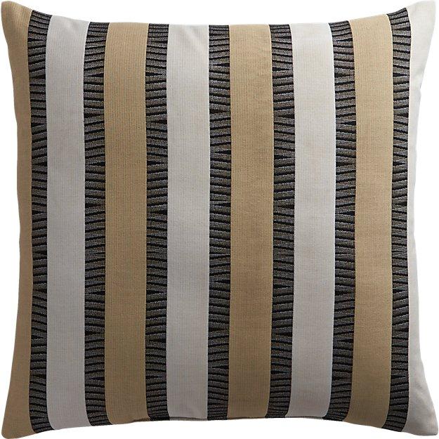 """izmir neutral 20"""" outdoor pillow"""