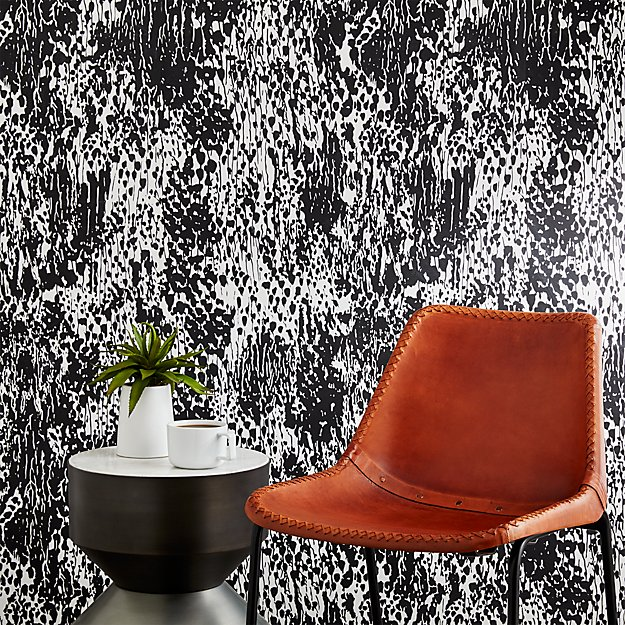 jackson-black-and-white-traditional-paste-wallpaper by crate&barrel