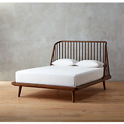 jarvis low profile wood bed