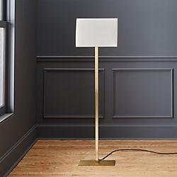 john metallic bronze floor lamp