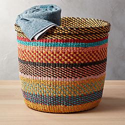 joya multi-color basket