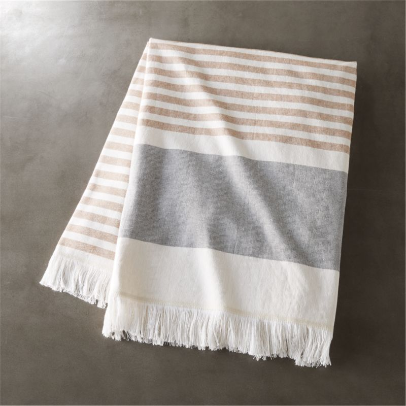 Karla Copper Bath Towel Cb2