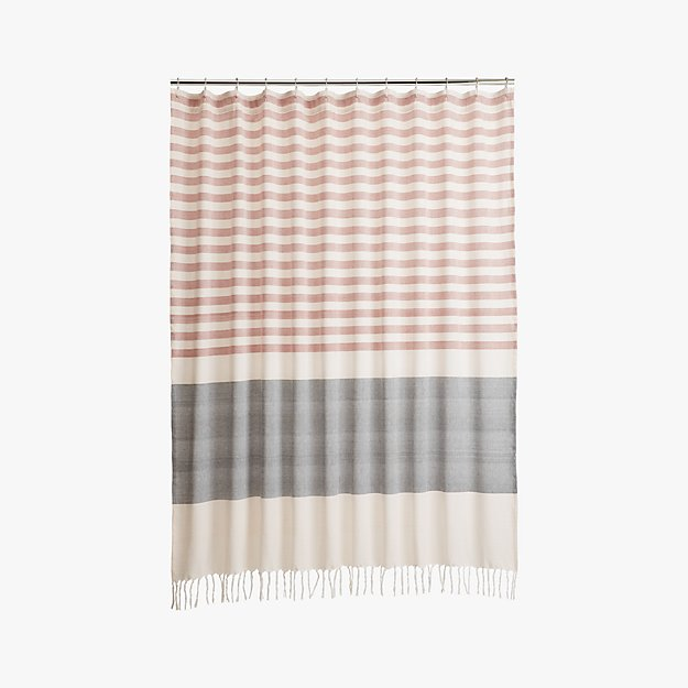 karla copper shower curtain