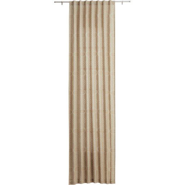 "kasbah curtain panel 48""x96"""