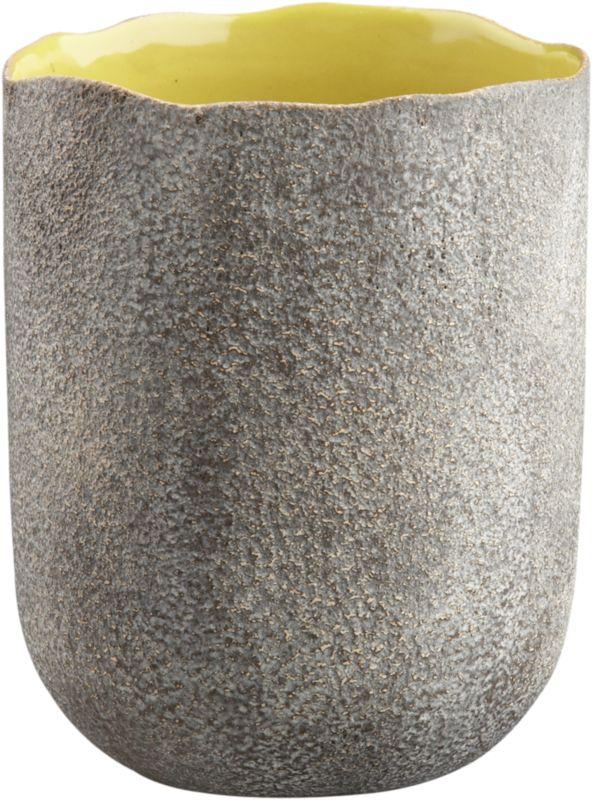kauai chartreuse vase