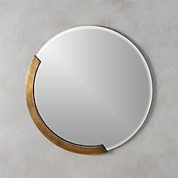 "kit 24"" round wall mirror"