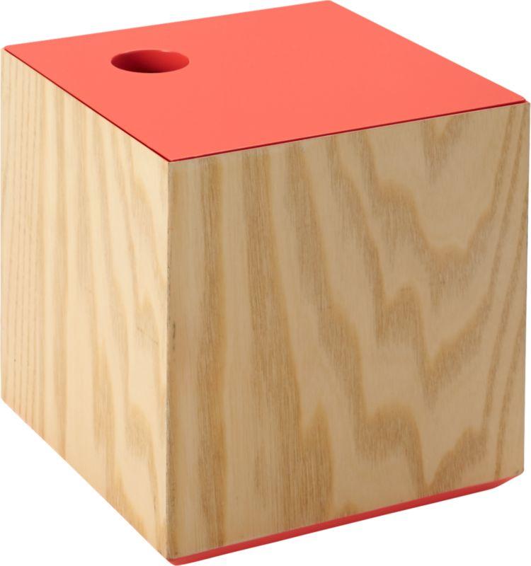 lacquer lid small peach box
