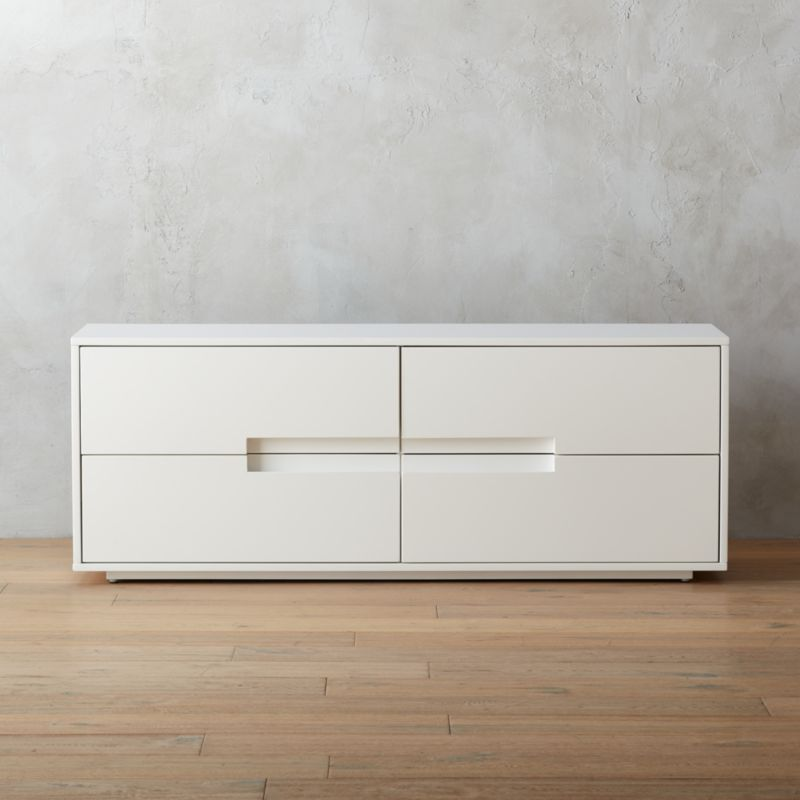 Latitude White Low Dresser Cb2
