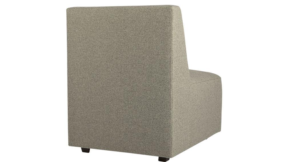 layne armless sectional chair