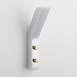 leaning edge aluminum wall hook