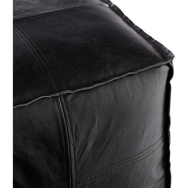 LeatherPoufBlackAV2F16