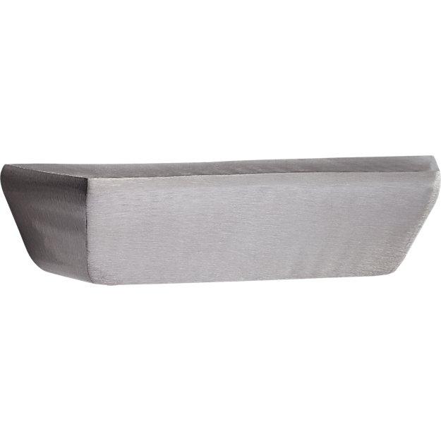 ledge silver shelf