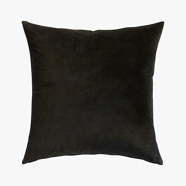 "leisure black 23"" pillow"