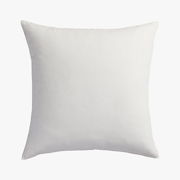 "leisure white 23"" pillow"
