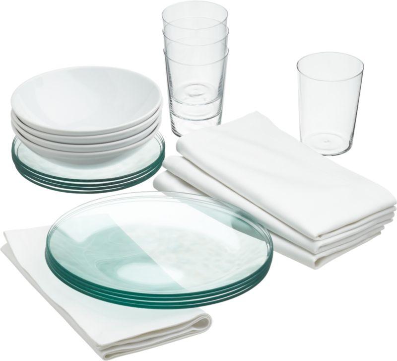 lens dinnerware set