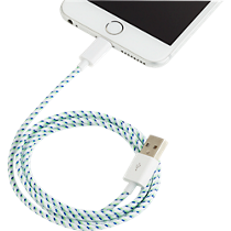 usb lightning white cable