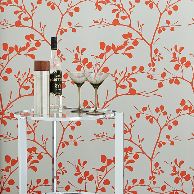 lilt self adhesive wallpaper cb2