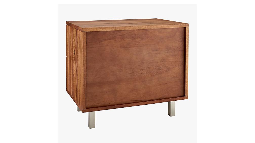 linear nightstand
