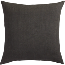 "linon dark grey 20"" pillow"