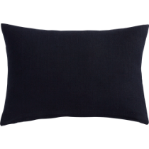 "linon navy 18""x12"" pillow"