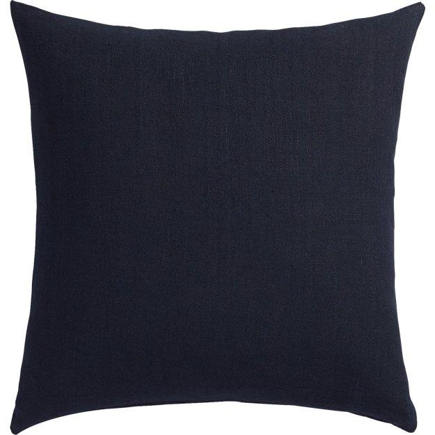 """linon navy 20"""" pillow"""