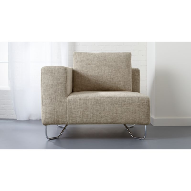 lotus natural corner chair