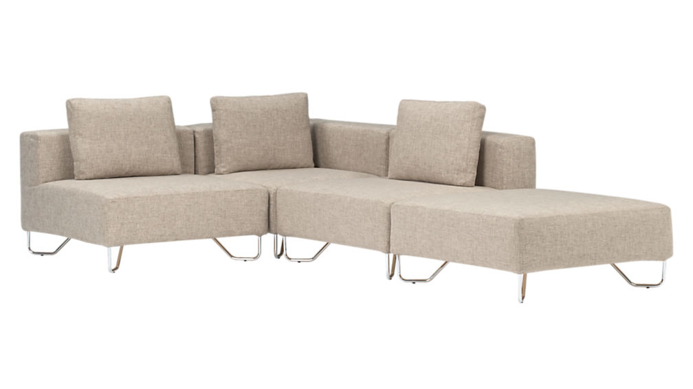 lotus natural corner chair