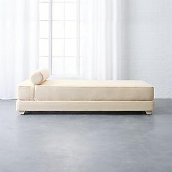 lubi natural sleeper daybed cb2 bedroom furniture