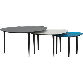lucent nesting tables set of 3