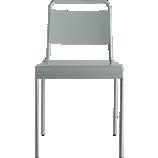 lucinda grey stacking chair