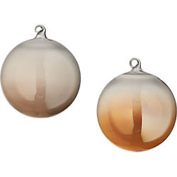 luster ball ornaments