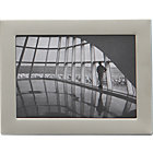 stainless steel magnetic 2.5x3.5 picture frame.