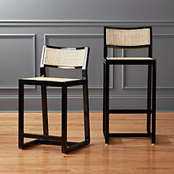makan mahogany bar stools