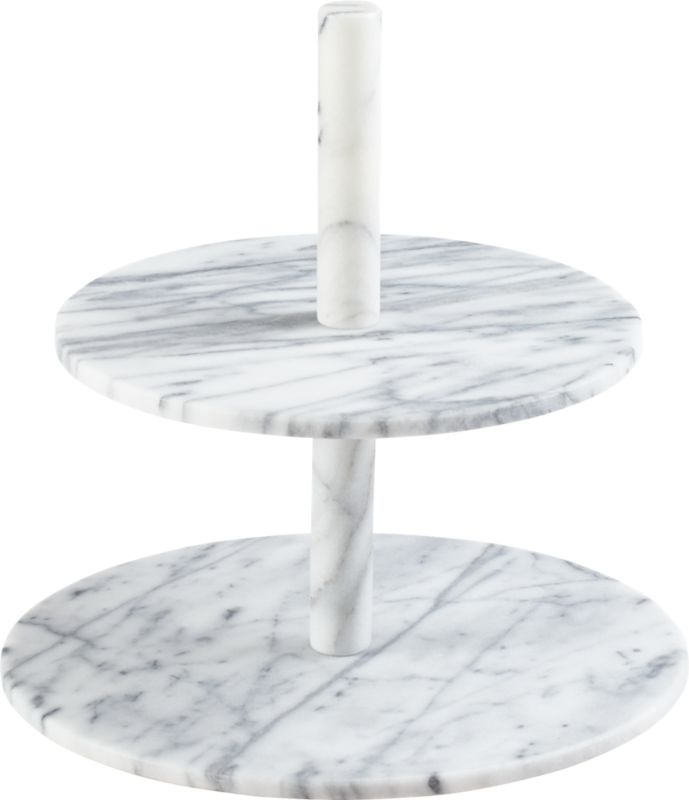 marble two-tier server