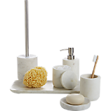 marble bath accessories