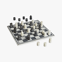 marble chess game