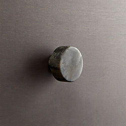 marble grey disk knob