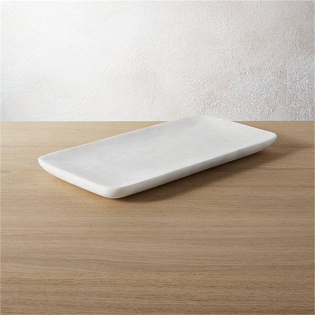 marble tank tray
