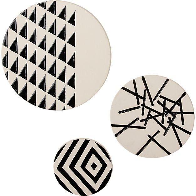 3-piece marlow ceramic disc set