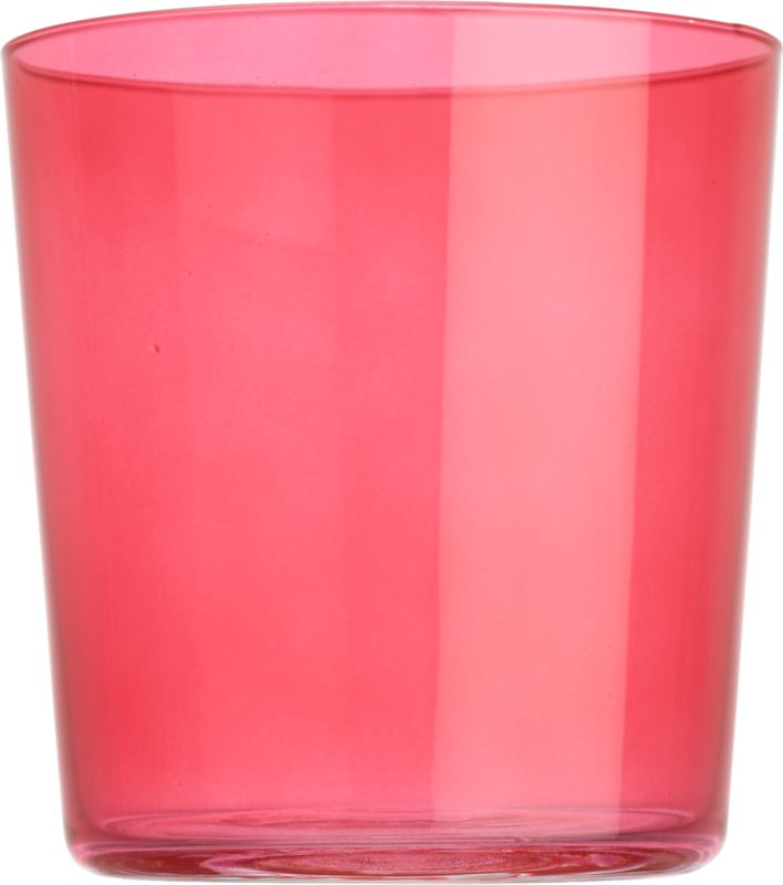 "<span class=""copyHeader"">color pop.</span> Our popular Marta glass makes a splash in bold, brilliant pink. Stylish, micro-thin and tinted with a translucent pop of color, it's a bright way to rock anything on the rocks.<br /><br /><NEWTAG/><ul><li>Pink-tinted glass</li><li>Dishwasher-safe</li></ul>"