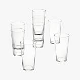 set of 8 marta juice glasses