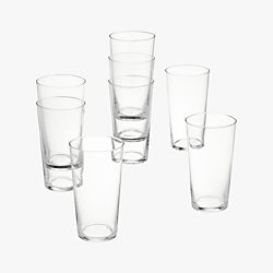 marta juice glasses set of eight