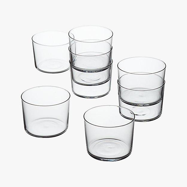 set of 8 marta tasting glasses